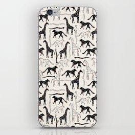 Safari Confetti Party iPhone Skin