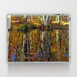 Autumn Reflections Laptop & iPad Skin
