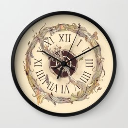 Winding Up (Wherever Time Takes Me) Wall Clock