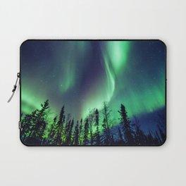 Northern Lights in Yellowknife Laptop Sleeve