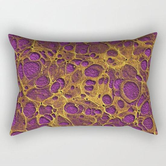 Golden Marble 05 Rectangular Pillow