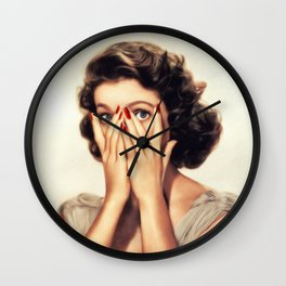 Loretta Young, Actress Wall Clock