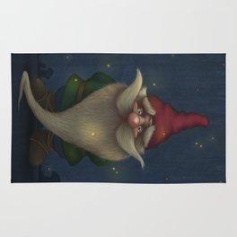 Old Christmas Gnome Rug