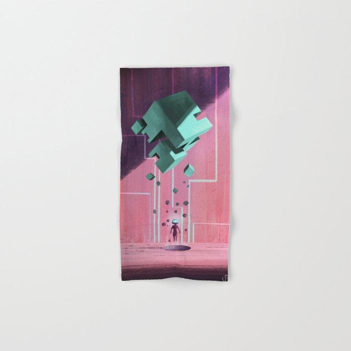 Cube. Hand & Bath Towel