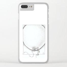 Swollen Balloon Clear iPhone Case