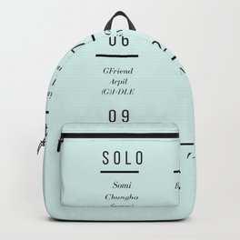 kpop girl group calendar Backpack