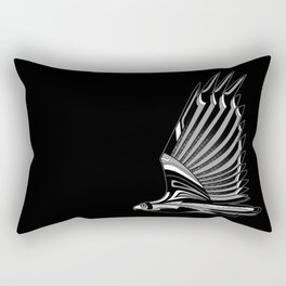 Hawk Deco III Rectangular Pillow