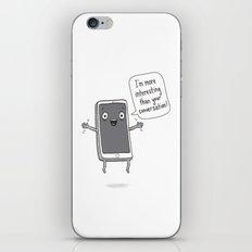 Distracting Little Phone iPhone & iPod Skin