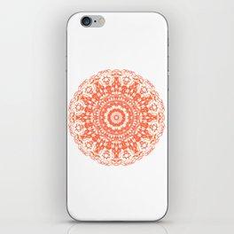 Mandala 12 / 2 eden spirit orange iPhone Skin