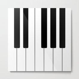 Piano Keys - Music Metal Print