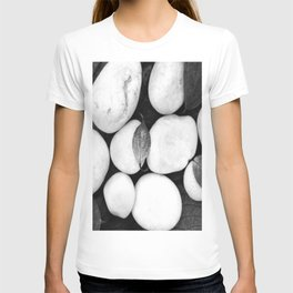 Zen White Stones On A Black Background #decor #society6 #buyart T-shirt