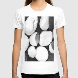 Zen White Stones On A Black Background #decor #society6 #buyart T-shirt
