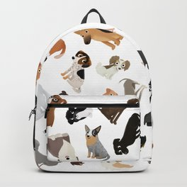 Dog Party Pile Backpack