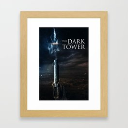 Dark Tower Poster Framed Art Print