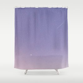 Soft Milky Way Shower Curtain