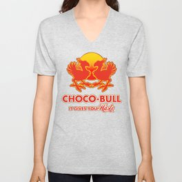 Final Fantasy VII - Choco-Bull Energy Drink Unisex V-Neck