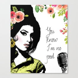 Amy's no good Canvas Print