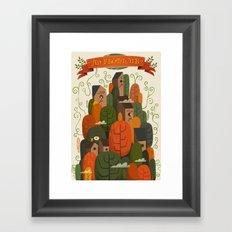 An Fhomhair (Autumn) Framed Art Print