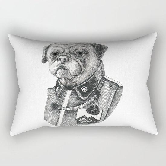 Mr. Pug Rectangular Pillow