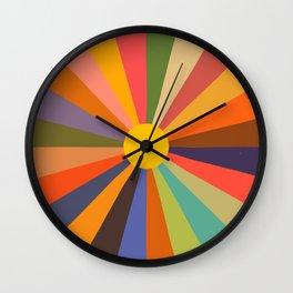 Sun - Soleil Wall Clock