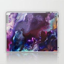Expressive Flow 1 - Mixed Media Pain Laptop & iPad Skin