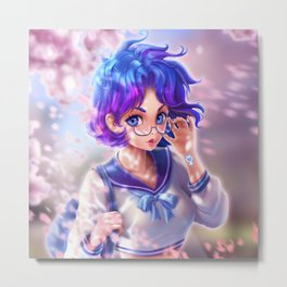 Sailor Mercury  Metal Print