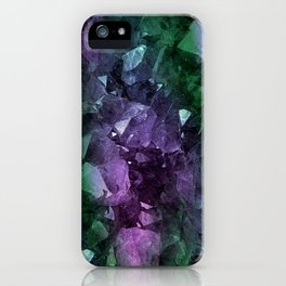 Crystal Geode iPhone Case