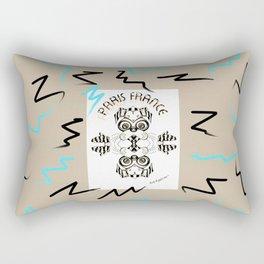 The French Art Hound Rectangular Pillow