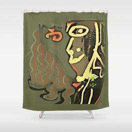 Seduction / Memories / Follies Collection Shower Curtain