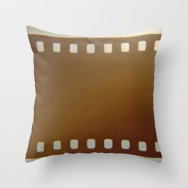 Film roll color Throw Pillow