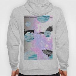 whales in space Hoody