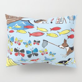 The Voyage of the Beagle Pillow Sham
