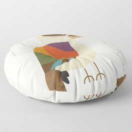 Laughing Kookaburra Floor Pillow