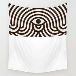 One-eyed monster Wall Tapestry