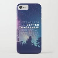 "pocketfuel iPhone & iPod Cases featuring CS Lewis ""Better Things Ahead"" by Pocket Fuel"