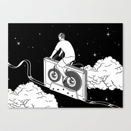 Slow Ride Canvas Print