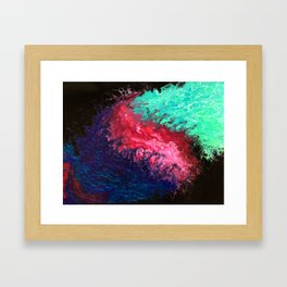 Collide Framed Art Print