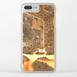 World Furnace Clear iPhone Case