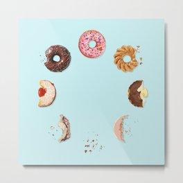 Donut Phases Metal Print
