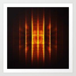 Fractality - Pixelate Art Print