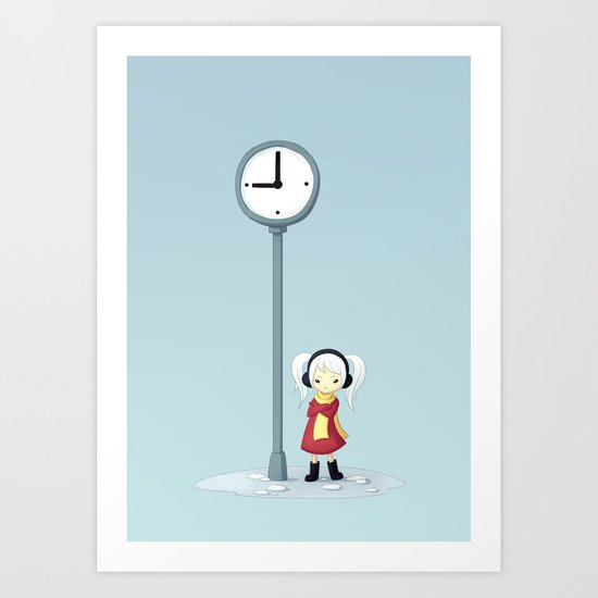 Always Late Art Print