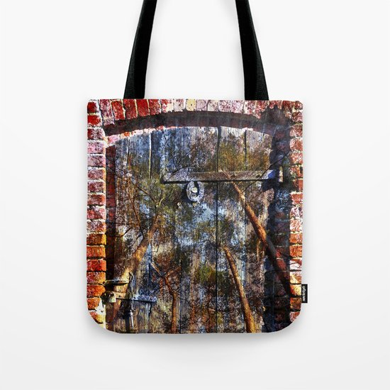 Door into the Forest  Tote Bag