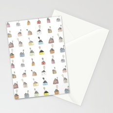 les petites maisons douillettes Stationery Cards