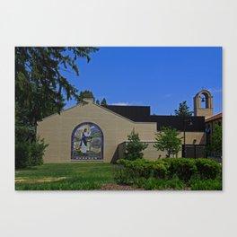 Lourdes University- Jesus Feeding the Crowd III Canvas Print