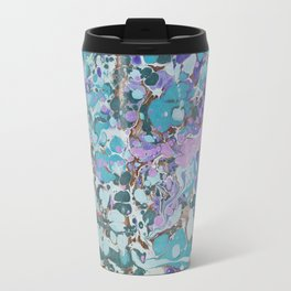 Aquabubble marbleized print Travel Mug