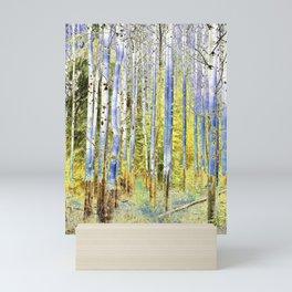 Birches II Mini Art Print