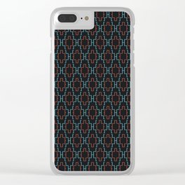 Abstract geometric surface  / The L pattern 1 Clear iPhone Case