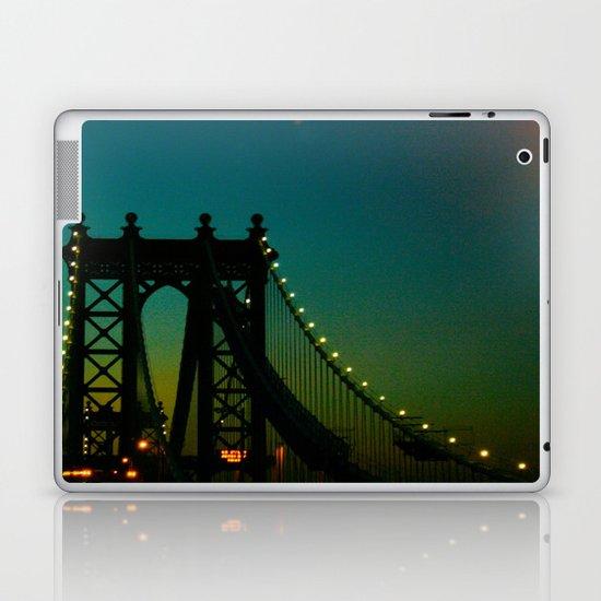 Brooklyn Bridge at Night Laptop & iPad Skin