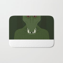 Killer Croc Bath Mat