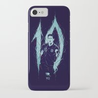 messi iPhone & iPod Cases featuring Messi by Andres Moncayo